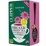 Πράσινο Τσάι με Εχινάκεια & Εσπεριδοειδή (20φκλ) Clipper