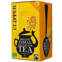 Μαύρο Τσάι Mασάλα με Ινδικά Μπαχαρικά 'Indian Chai' (20 φκλ) Clipper