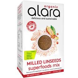 Λιναρόσπορος Αλεσμένος με Superfoods - Χωρίς Γλουτένη (500γρ) Alara