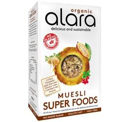 Μούσλι Ολικής με Σπόρους, Berries & 'SuperFoods' - Xωρίς Ζάχαρη (500γρ) Alara
