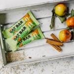 Μπάρες Βρώμης με 'Μήλο & Κανέλα' - Χωρίς Γλουτένη (4x40γρ) Nairn's