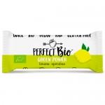 Ωμή Μπάρα 'Green Power' με Λεμόνι κ' Σπιρουλίνα - Χωρίς Ζάχαρη (38γρ) Perfect Bio