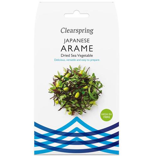 'Arame' Αποξηραμένα Χόρτα Θαλάσσης - Φύκια (30γρ) Clearspring
