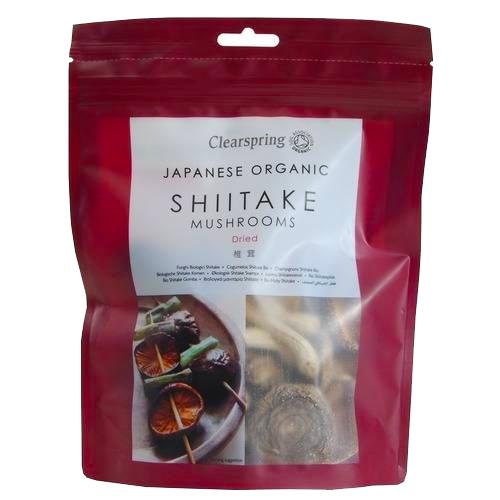 Shiitake Αποξηραμένα Μανιτάρια (40γρ) Clearspring