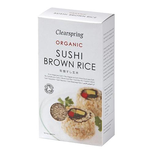 Ρύζι Ολικής για Σούσι (500γρ) Clearspring