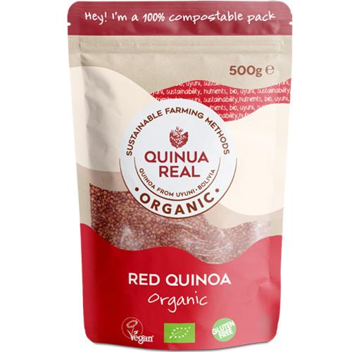 Κόκκινη Βασιλική Κινόα (500γρ) Quinua Real