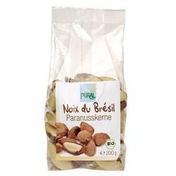 Καρύδια Βραζιλίας Ανάλατα (150γρ) Pural
