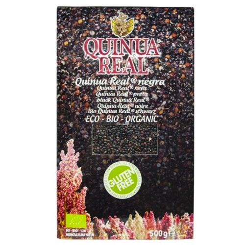 Mαύρη Βασιλική Κινόα (500γρ) Quinua Real