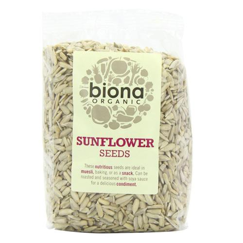 Ηλιόσποροι Καθαρισμένοι (500γρ) Biona