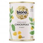 Έτοιμα Ρεβύθια (400γρ) Biona