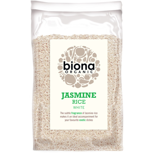Λευκό Ρύζι Jasmine (500γρ) Biona