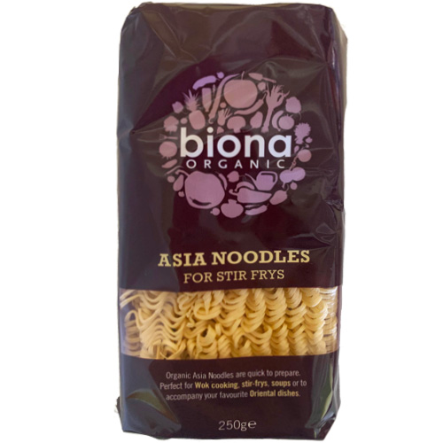Asia Νούντλς Σιταριού (250γρ) Biona