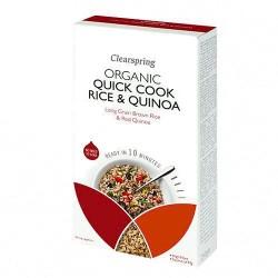 Ρύζι & Κινόα για Γρήγορο Μαγείρεμα (250γρ) Clearspring