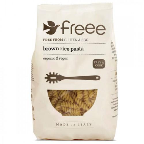 Βίδες από Καστανό Ρύζι Ολικής (500γρ) Freee by Doves Farm