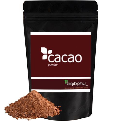Ακατέργαστο Κακάο σε Σκόνη 'Cacao powder' ποικιλίας Criollo (300γρ) Biosophy