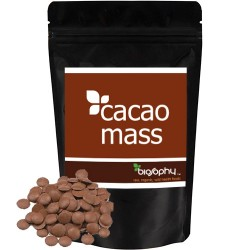 Ωμή Κακαόμαζα 'Cacao Mass' Σπασμένη (300γρ) Biosophy