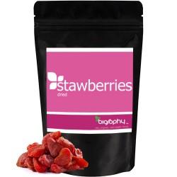 Φράουλες Ωμές Αποξηραμένες - Χωρίς Ζάχαρη - Biosophy