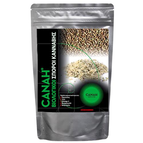 Σπόροι Κάνναβης Αποφλοιωμένοι Hemp Seeds (300γρ) Canah
