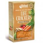 Raw Vegan Κράκερς με Λαχανικά Χωρίς Αλάτι (90γρ) Lifefood