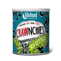 Ωμά Τσιπς 'Crawnchies' από Λαχανικά Θαλάσσης (20γρ) Lifefood