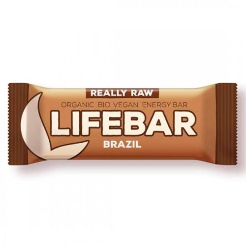 Μπάρα Ενέργειας Καρύδια Βραζιλίας Lifebar (47γρ) Lifefood