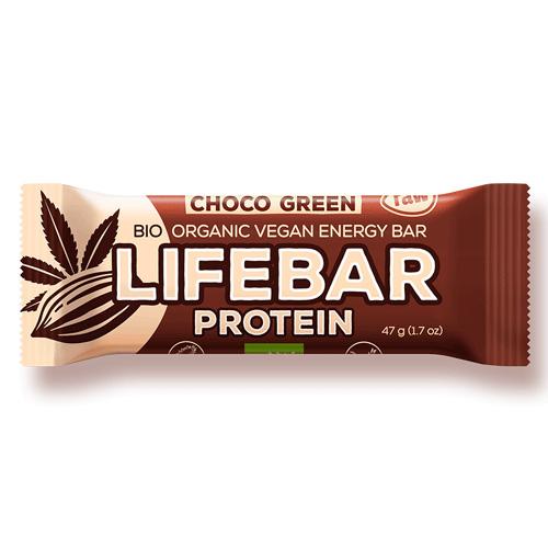 Μπάρα Ενέργειας με Σοκολάτα & Πρωτεΐνη Lifebar Plus (47γρ) Lifefood
