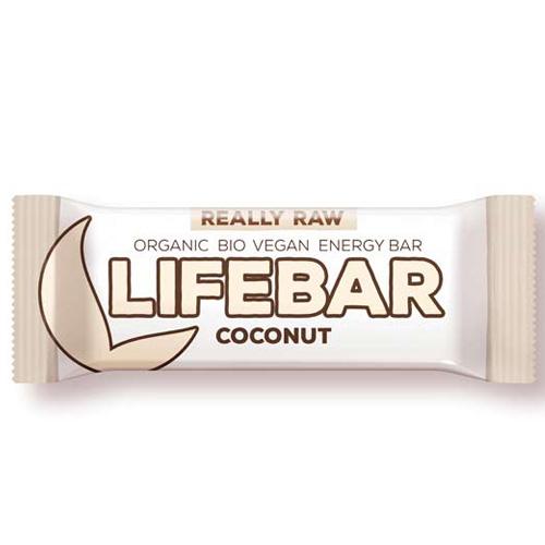 Ωμή Μπάρα Ενέργειας Καρύδα - Lifebar (47γρ) Lifefood