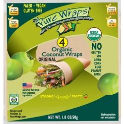 Ωμές Τορτίγιες Καρύδας (4x13γρ) The Pure Wraps