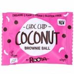 Vegan Μπαλίτσες Brownie με Καρύδα κ' Κομματάκια Σοκολάτας (40γρ) Roobar