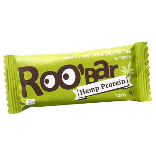 Ωμή Μπάρα με Πρωτεΐνη Κάνναβης (30γρ) Roobar