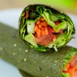 Ωμές Τορτίγιες από Σπανάκι 'Raw Wraps' (5x20γρ) Green Leaf Foods