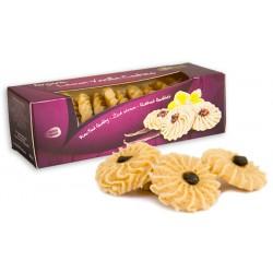 Raw Vegan Μπισκότα με Λεμόνι & Βανίλια (80γρ) Lifefood